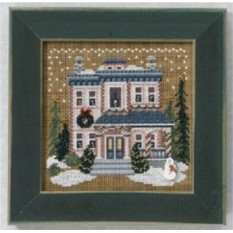Набор для вышивания Mill Hill Викторианский дом