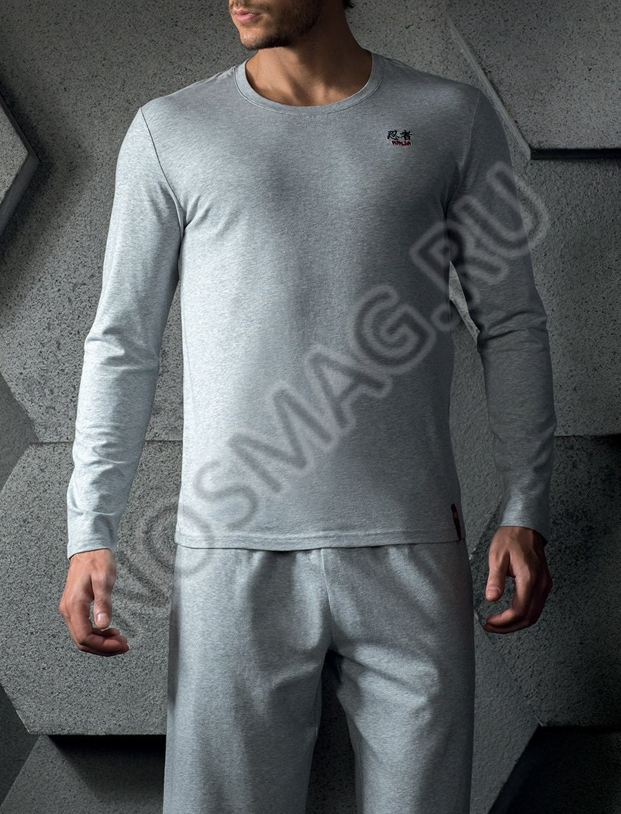 Мужская толстовка Charmante light grey melange