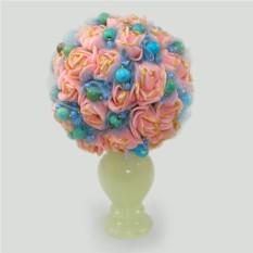 Цветы из бирюзы Бирюзовая любовь