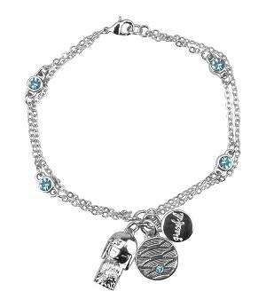 Женский браслет с кристаллами Swarovski Миюна
