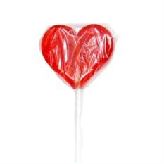 Карамель на палочке «Сердечко»