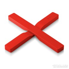 Красная магнитная подставка под горячее Magnetic trivet