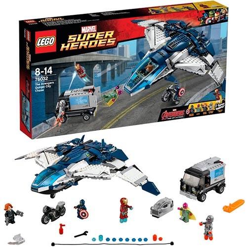 Конструктор - LEGO Super Heroes Погоня на Квинджете Мстителей™