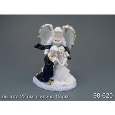 Статуэтка Ангел с влюбленной парочкой