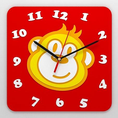 Детские часы «Обезьянка»