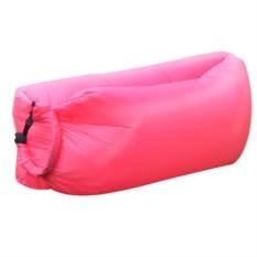 Надувной диван Ламзак розового цвета