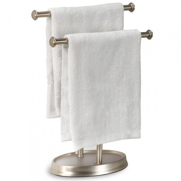Держатель для полотенец напольный Palm (цвет: никель)