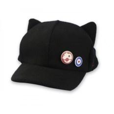Черная кепка Аски Лэнгли