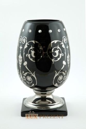 Ваза для цветов Exclusive (керамика, swarovski)