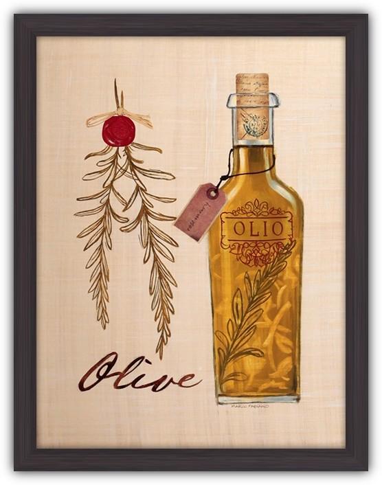 Картина (репродукция) Оливковое масло с розмарином