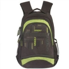 Молодежный рюкзак Grizzly (цвет - салатовый)