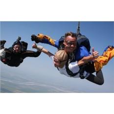 Сертификат Прыжок с парашютом в тандеме для двоих