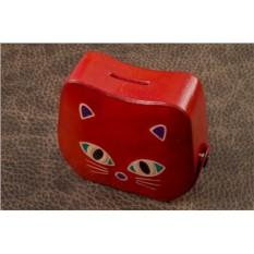 Копилка Красная кошка