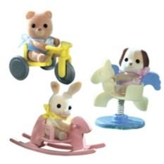 Набор Sylvanian Families Младенец в пластиковой коробке-2