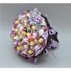 Букет из конфет Шоколадный десерт