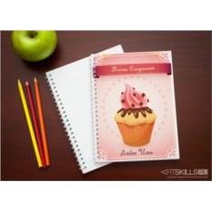 Именная тетрадь Книга сладостей
