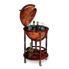 Напольный глобус-бар для алкогольных напитков