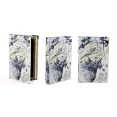 Шкатулка-фолиант Весенние цветы
