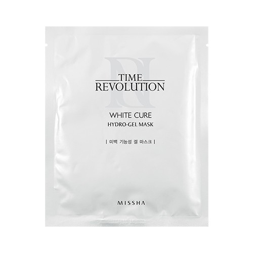 Маска Missha Time revolution white cure hydro gel mask