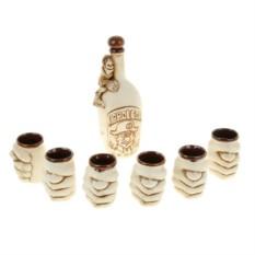 Водочно-коньячный набор Водочка Наполеон 7 предметов