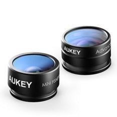 Smartphone Lens Set Fisheye 160, 20X Macro Lens PL-A2