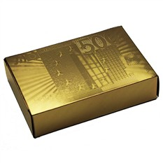 Карты игральные Евро золотой