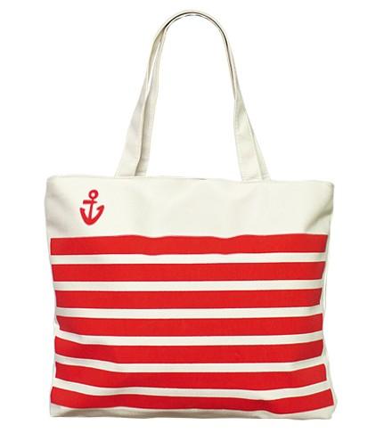 Сумка Sailor (бело-красная)