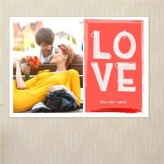 Постер на стену Неон Love