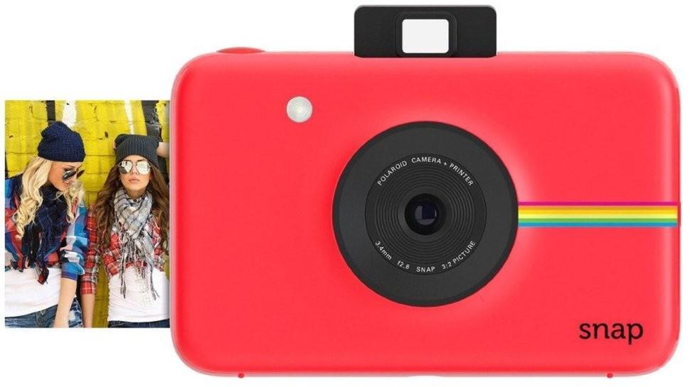 Фотоаппарат моментальной печати Polaroid Snap Red