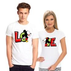 Парные футболки LOVE микки
