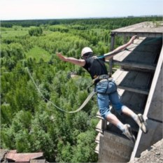 Прыжок на веревке для одного