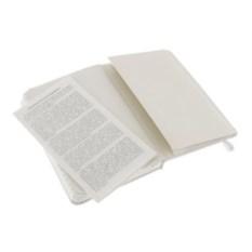 Записная книжка Moleskine Classic в линейку (цвет — белый)