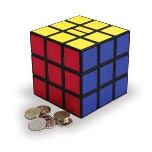 Копилка Кубик Рубика - Цветная геометрия