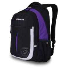 Рюкзак Wenger (цвет — чёрный/фиолетовый/серебристый)