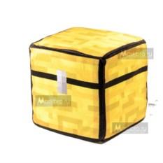 Плюшевый куб-подушка Сундук