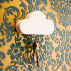 Магнитный держатель для ключей Cloud