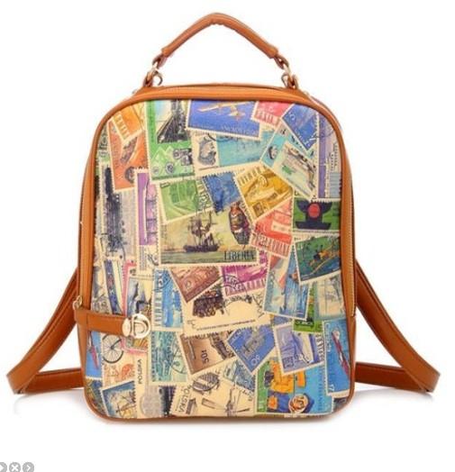 Сумка-рюкзак Stamps