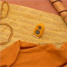 Желтый пульт для селфи Селфинатор