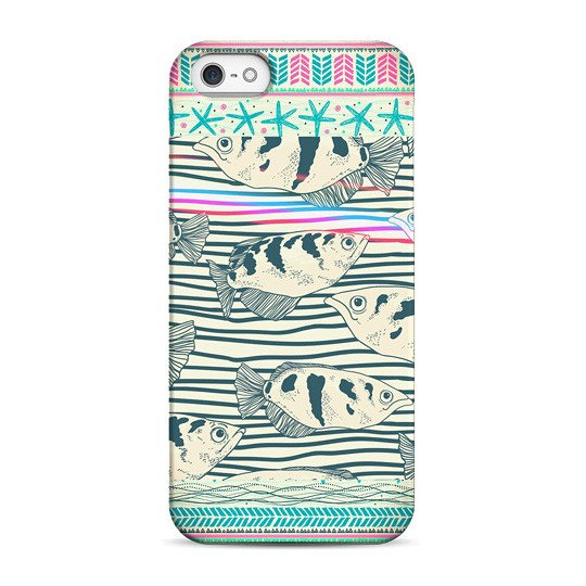 Чехол Fish Life для телефона iPhone 5, 5S, SE