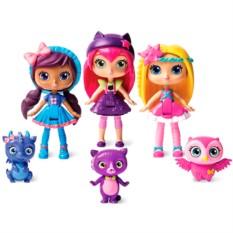 3 фигурки главных героинь с питомцами Little Charmers