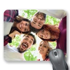 Коврик для мыши с вашим фото «Яркий кадр»