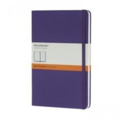 Фиолетовая записная книжка Moleskine Classic (в линейку)
