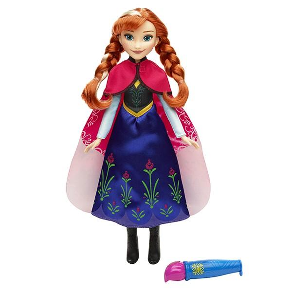 Кукла Disney Princess Анна в наряде с проявляющ. рисунком