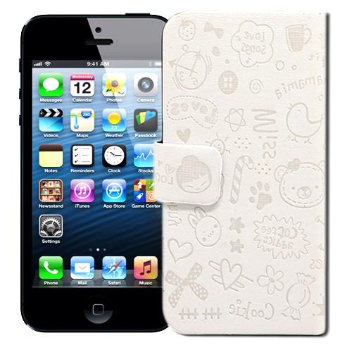 Чехол для iPhone 5 Dreams (белый) Kawaii