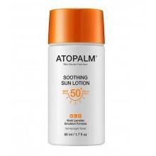 Мягкий солнцезащитный лосьон SPF 50+ PA+++, Atopalm