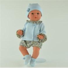 Игровая кукла ASI Коки в голубом костюме (36 см)