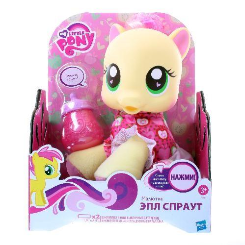Игровой набор My Little Pony Малыш Спайк/Малютка Радуга