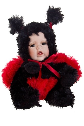 Кукла мягконабивная Маленькая божья коровка