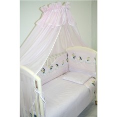 Балдахин на детскую кроватку из вуали