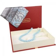 Подарочный набор (платок и бусы)